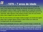 1979 7 anos de idade