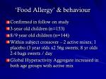 food allergy behaviour49