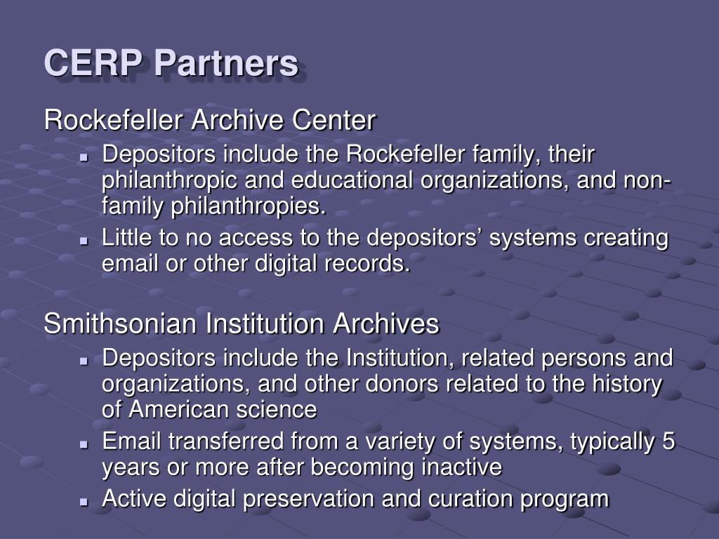 CERP Partners