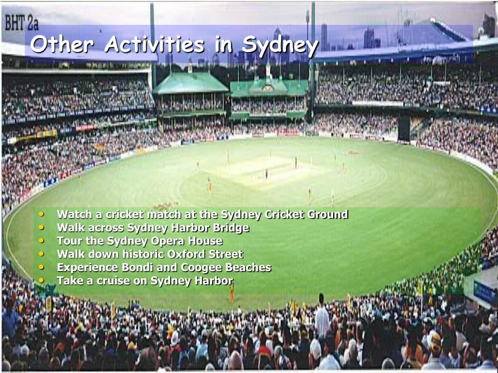 Other Activities in Sydney