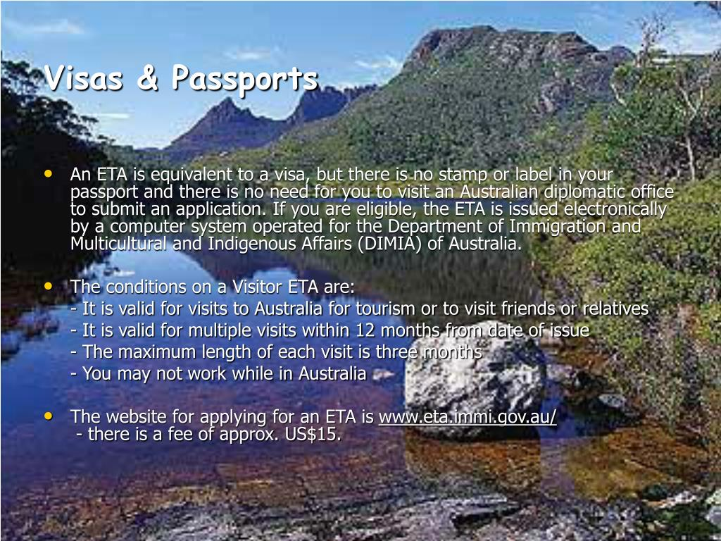 Visas & Passports