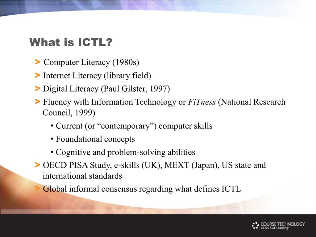 What is ICTL?