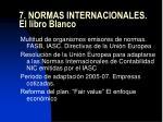 7 normas internacionales el libro blanco