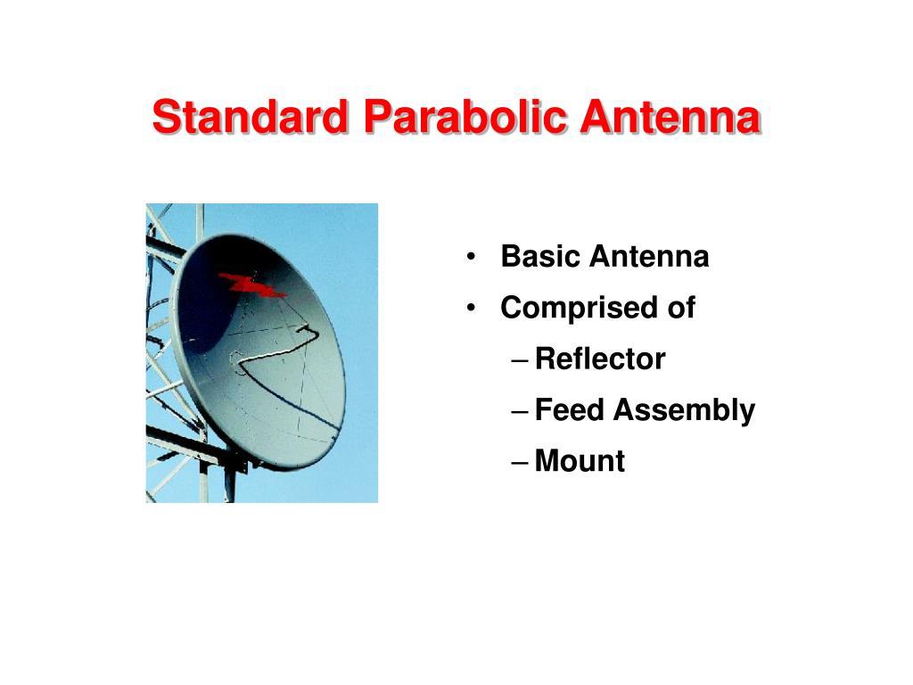 Standard Parabolic Antenna