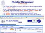 workflow management workflow portlet