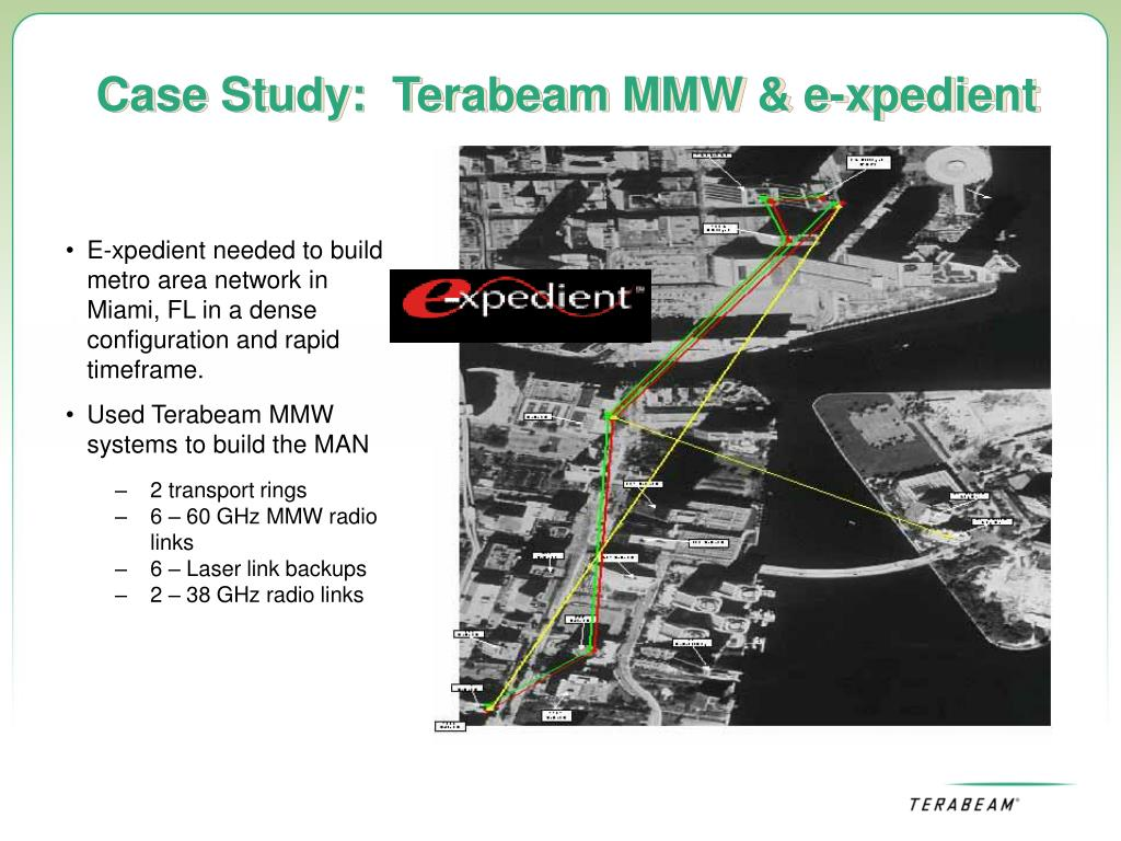 Case Study:  Terabeam MMW & e-xpedient