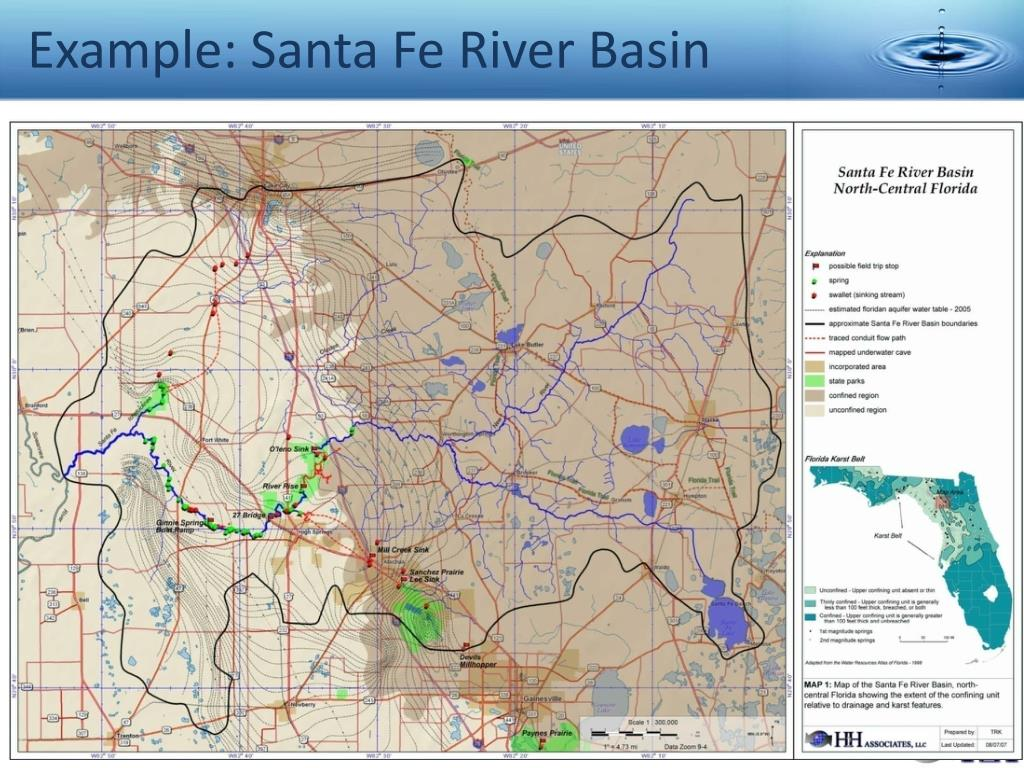 Example: Santa Fe River Basin