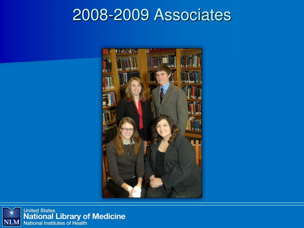 2008-2009 Associates