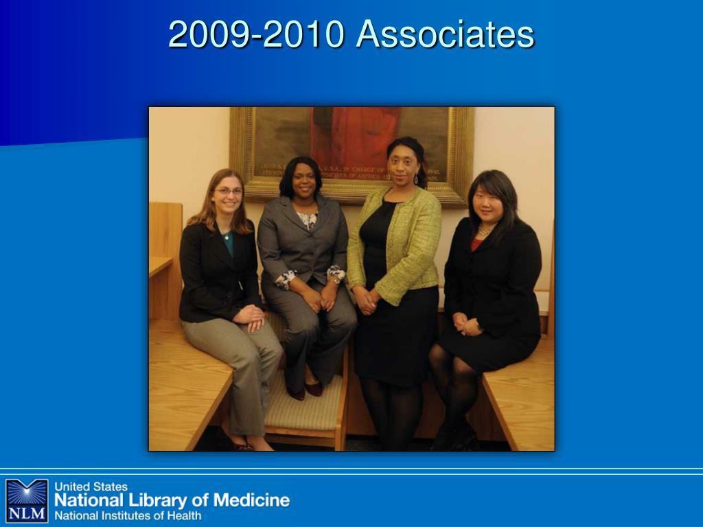 2009-2010 Associates