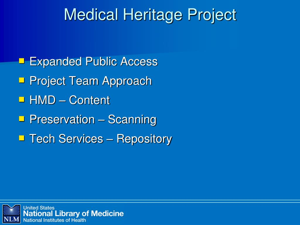 Medical Heritage Project