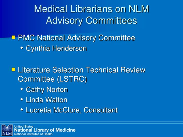 Medical librarians on nlm advisory committees3 l.jpg