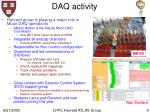 daq activity