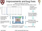 improvements and bug fixes