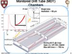 monitored drift tube mdt chambers