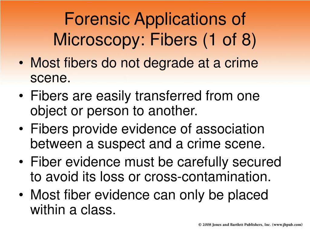 Forensic Applications of Microscopy: Fibers (1 of 8)