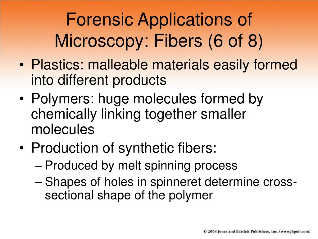 Forensic Applications of Microscopy: Fibers (6 of 8)