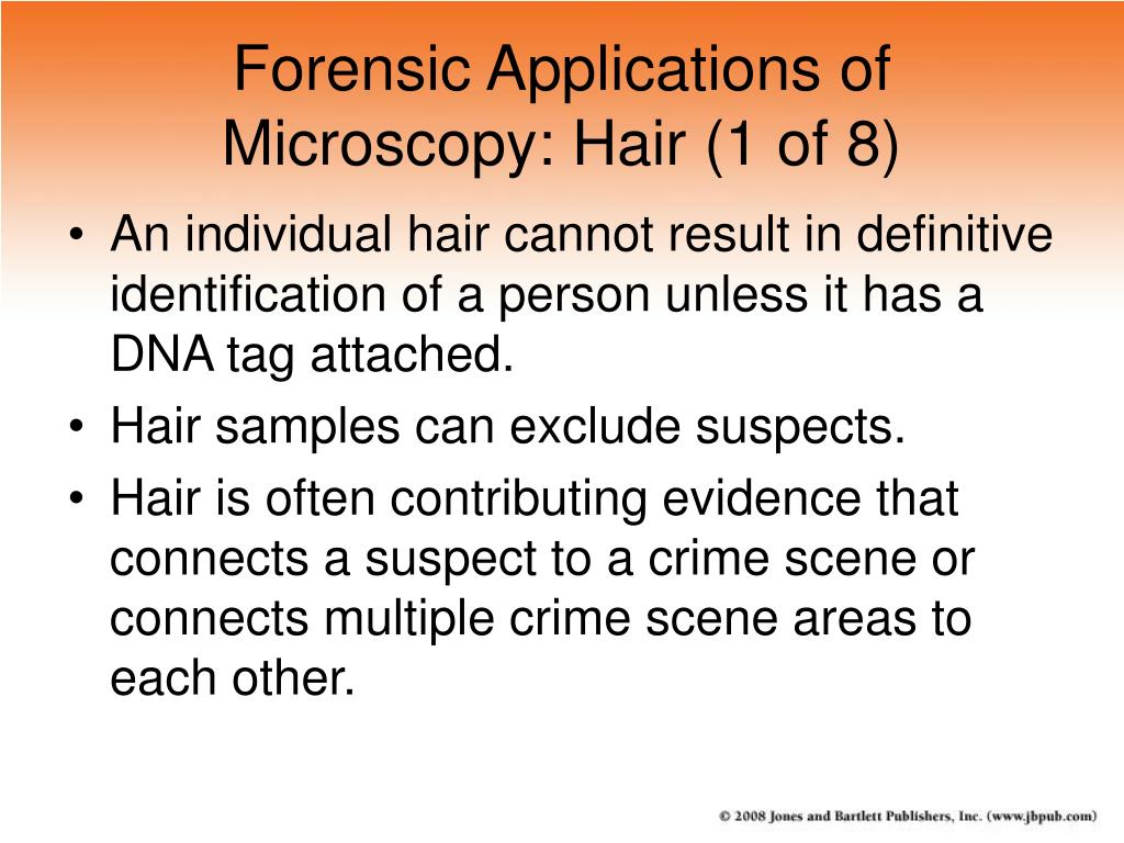 Forensic Applications of Microscopy: Hair (1 of 8)