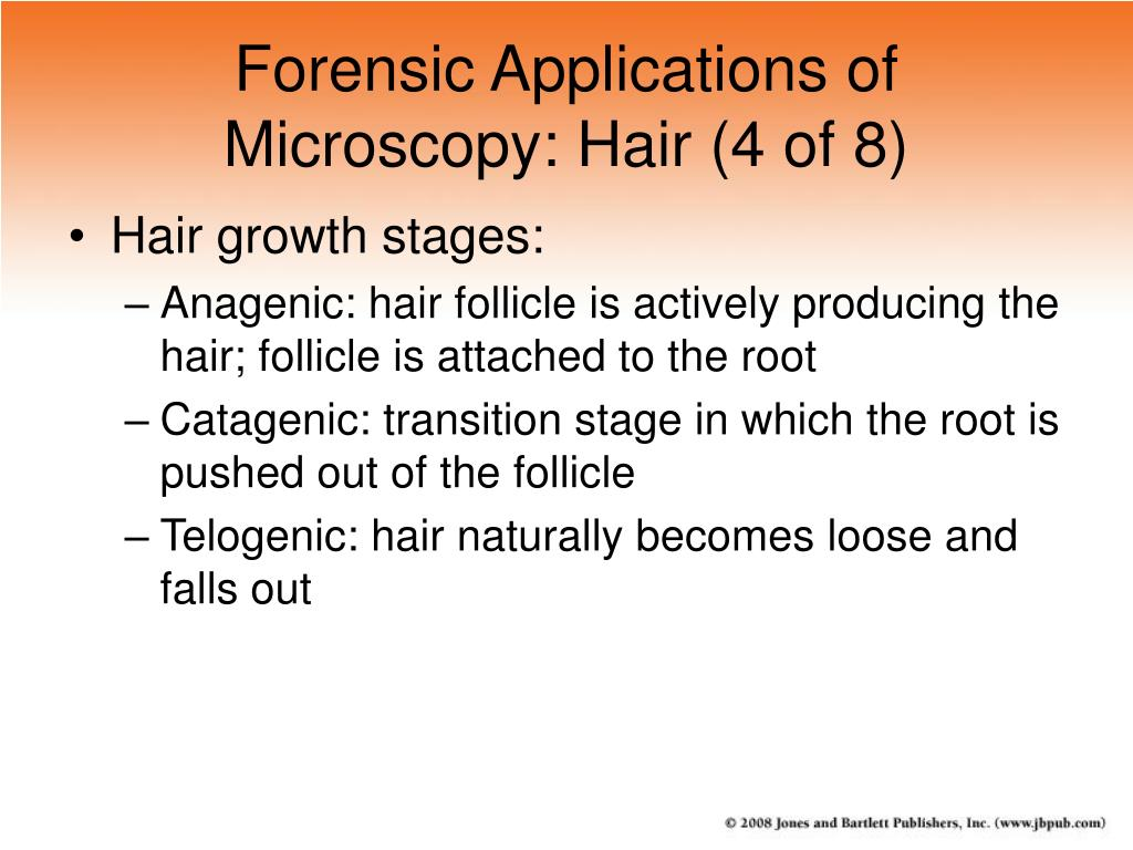 Forensic Applications of Microscopy: Hair (4 of 8)