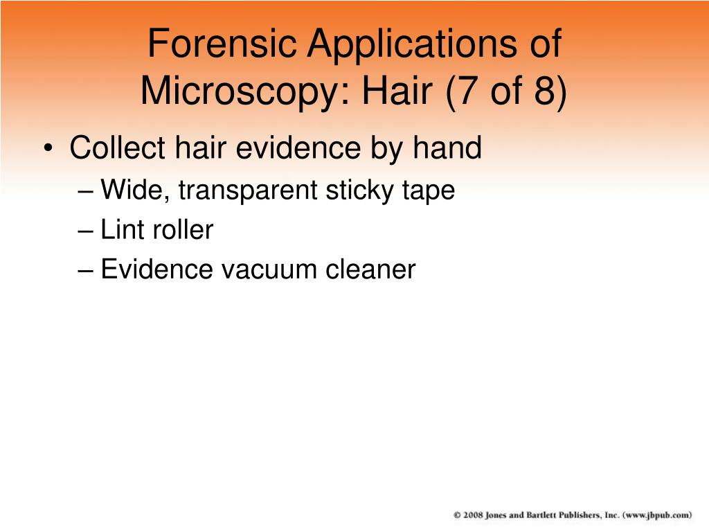 Forensic Applications of Microscopy: Hair (7 of 8)