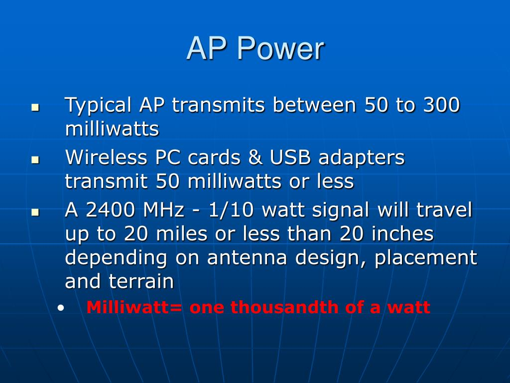 AP Power