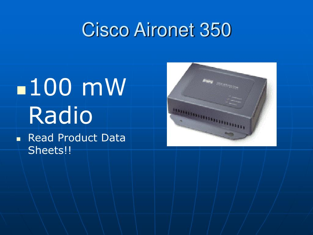 Cisco Aironet 350