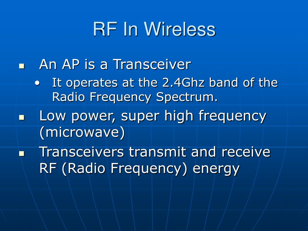 RF In Wireless