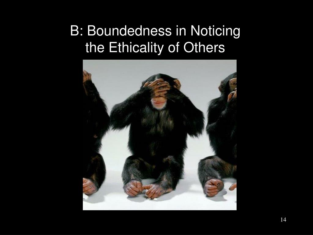 B: Boundedness in Noticing