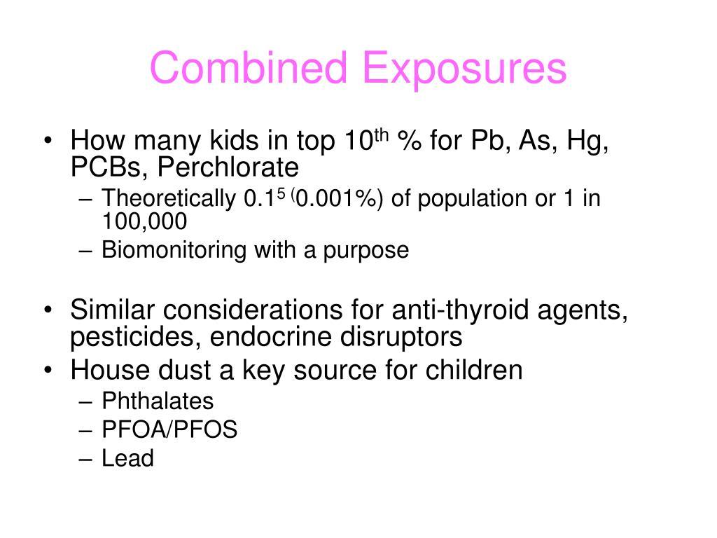 Combined Exposures