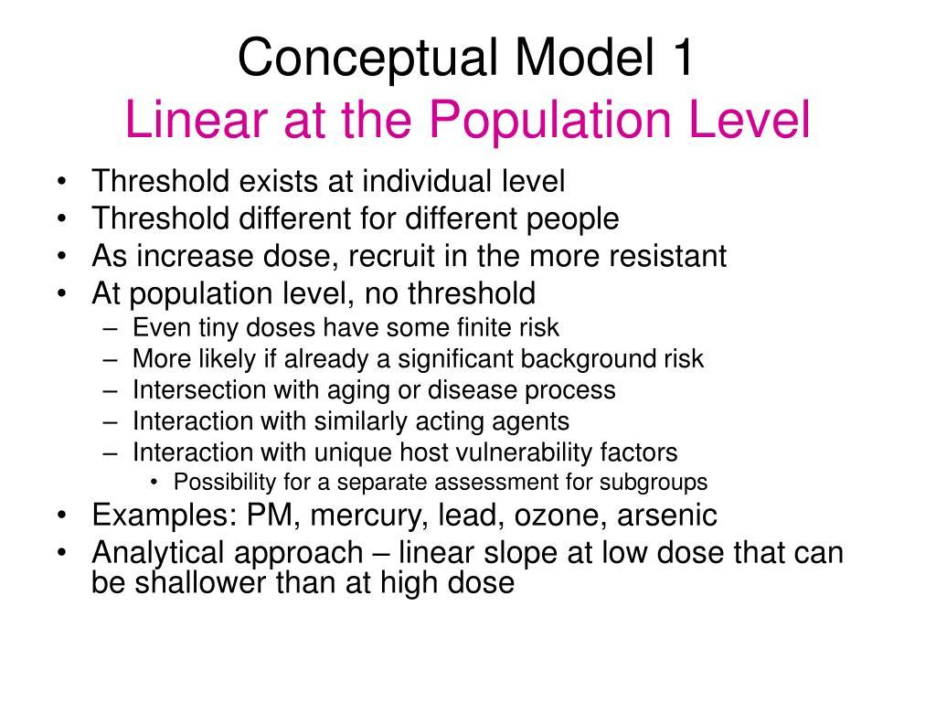 Conceptual Model 1