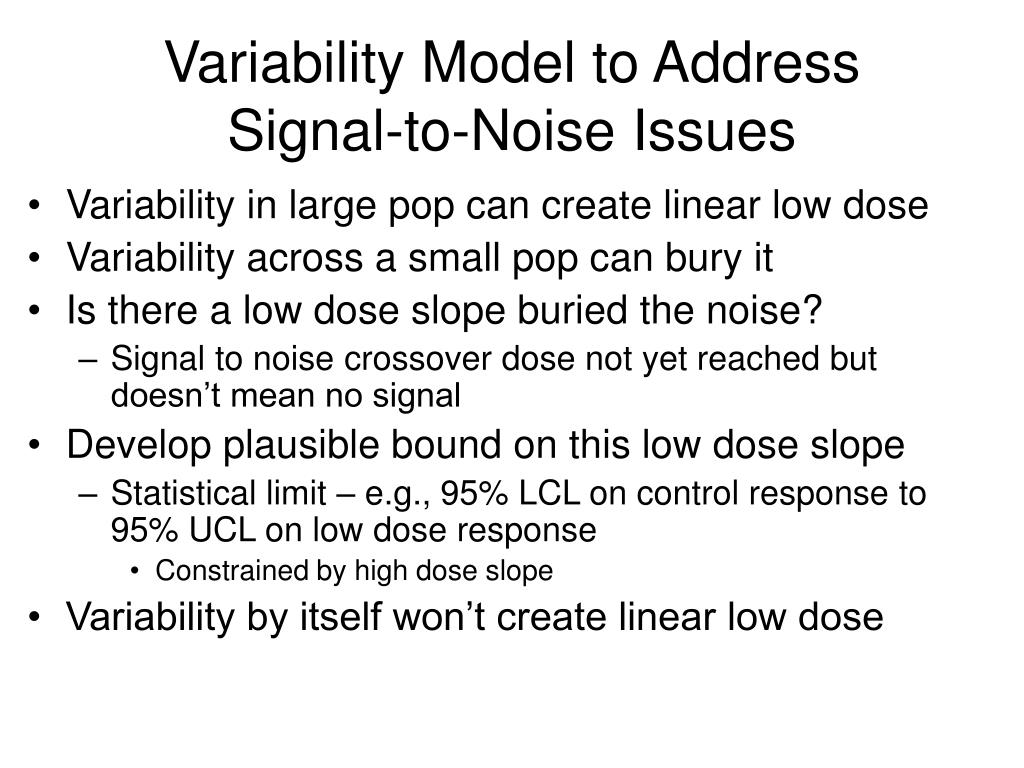 Variability Model to Address