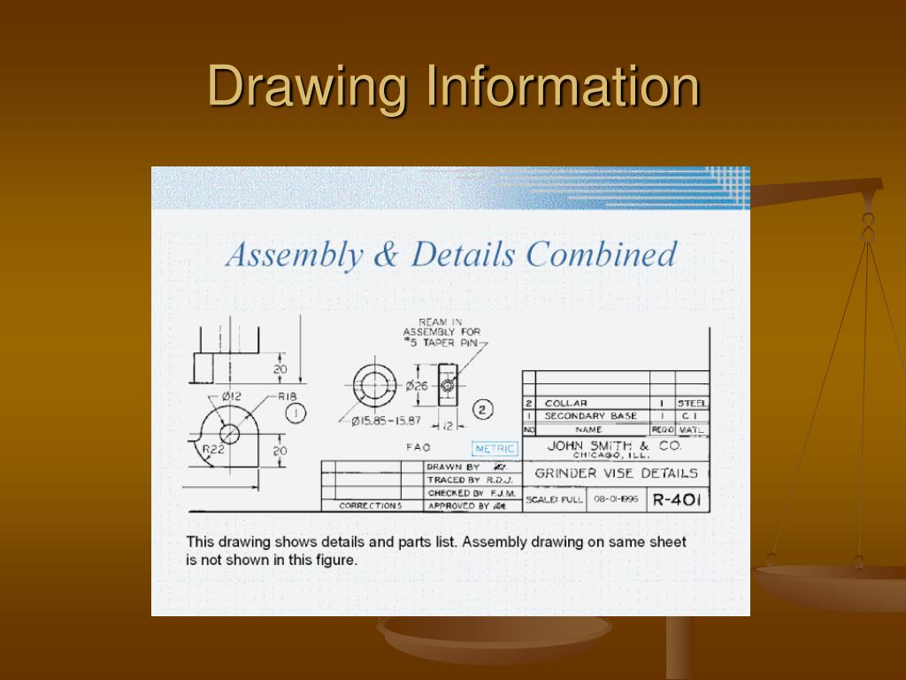 Drawing Information