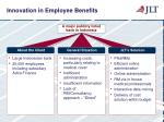 innovation in employee benefits