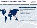 international eb network development