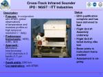 cross track infrared sounder ipo ngst itt industries
