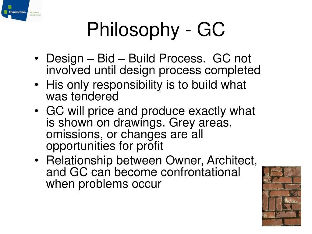 Philosophy - GC