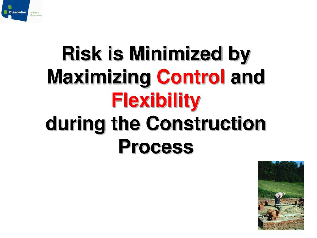 Risk is Minimized by