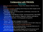 collaboration with fnv aob activities