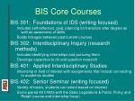 bis core courses13
