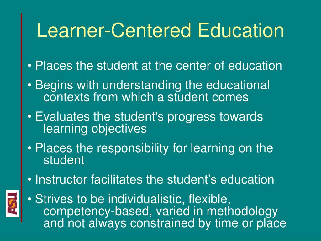 Learner-Centered Education