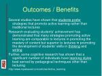 outcomes benefits7