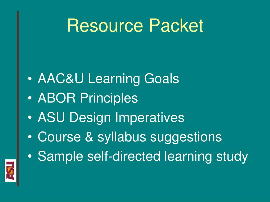 Resource Packet