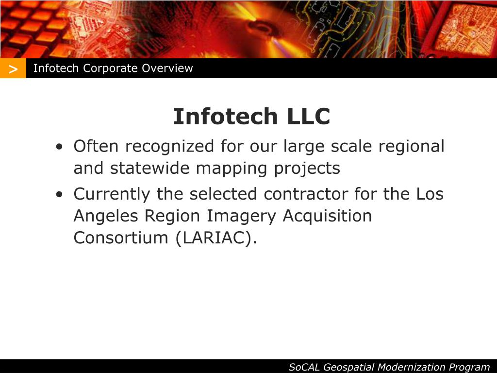 Infotech Corporate Overview