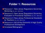 folder 1 resources