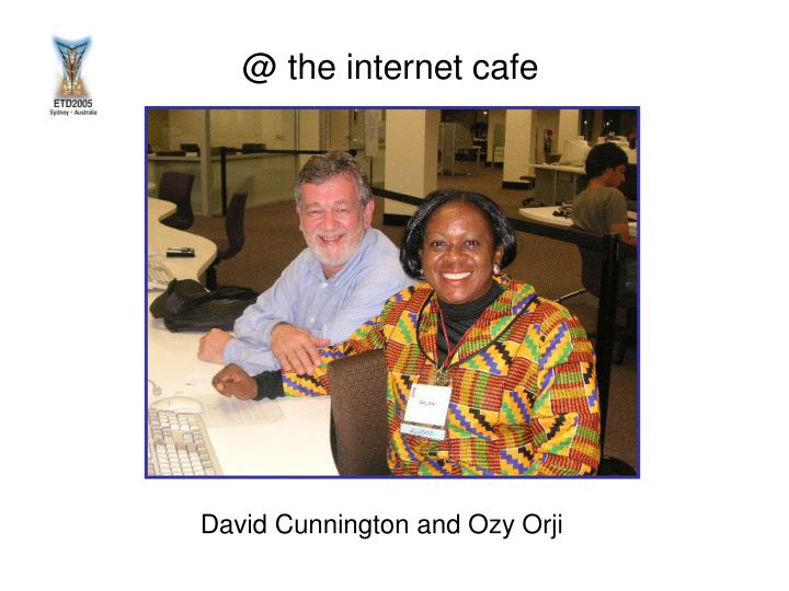 David cunnington and ozy orji
