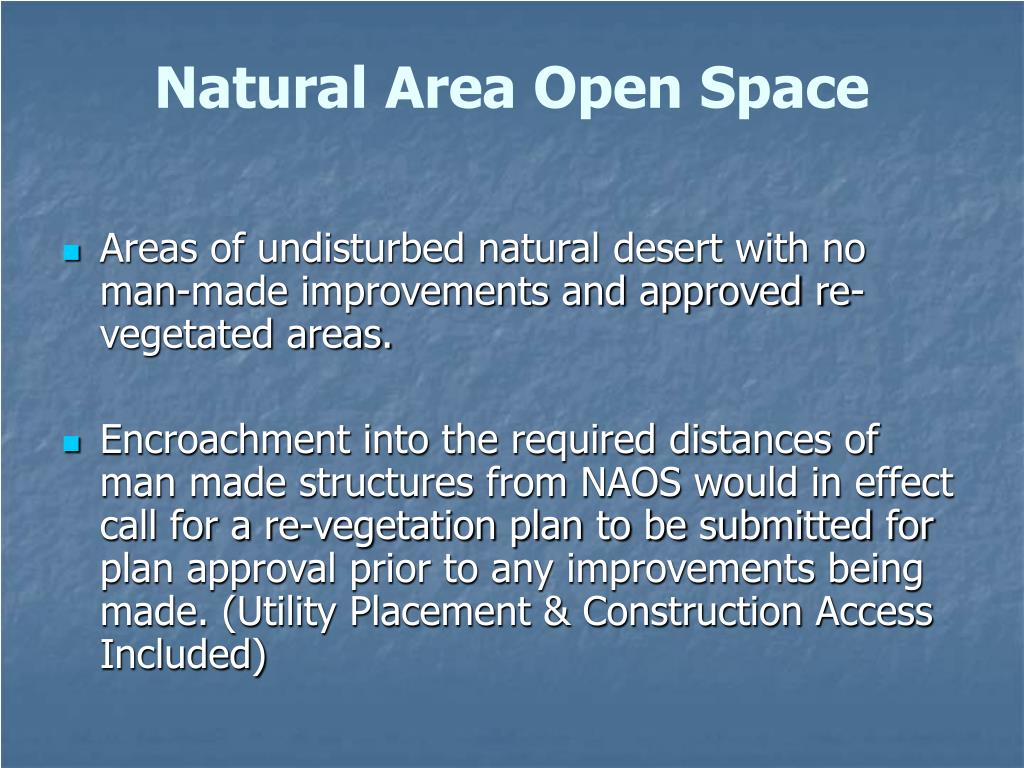 Natural Area Open Space