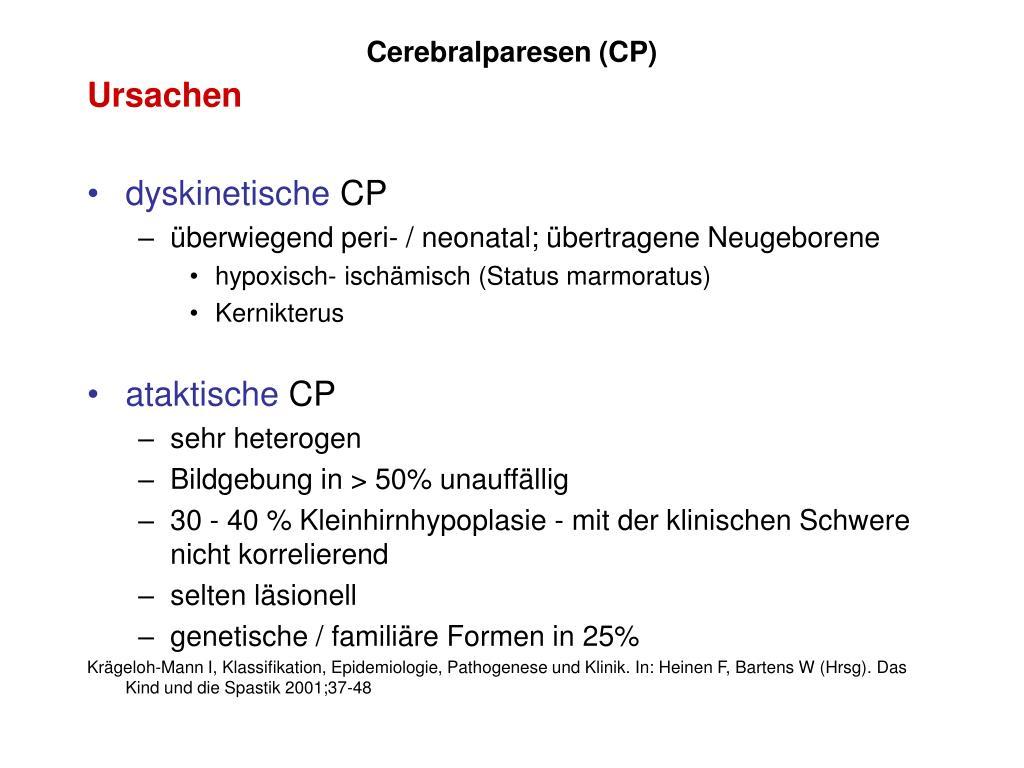 Cerebralparesen (CP)