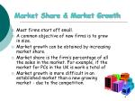 market share market growth