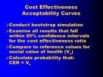 cost effectiveness acceptability curves