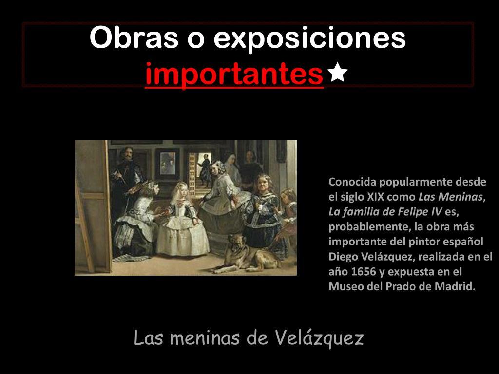 Obras o exposiciones