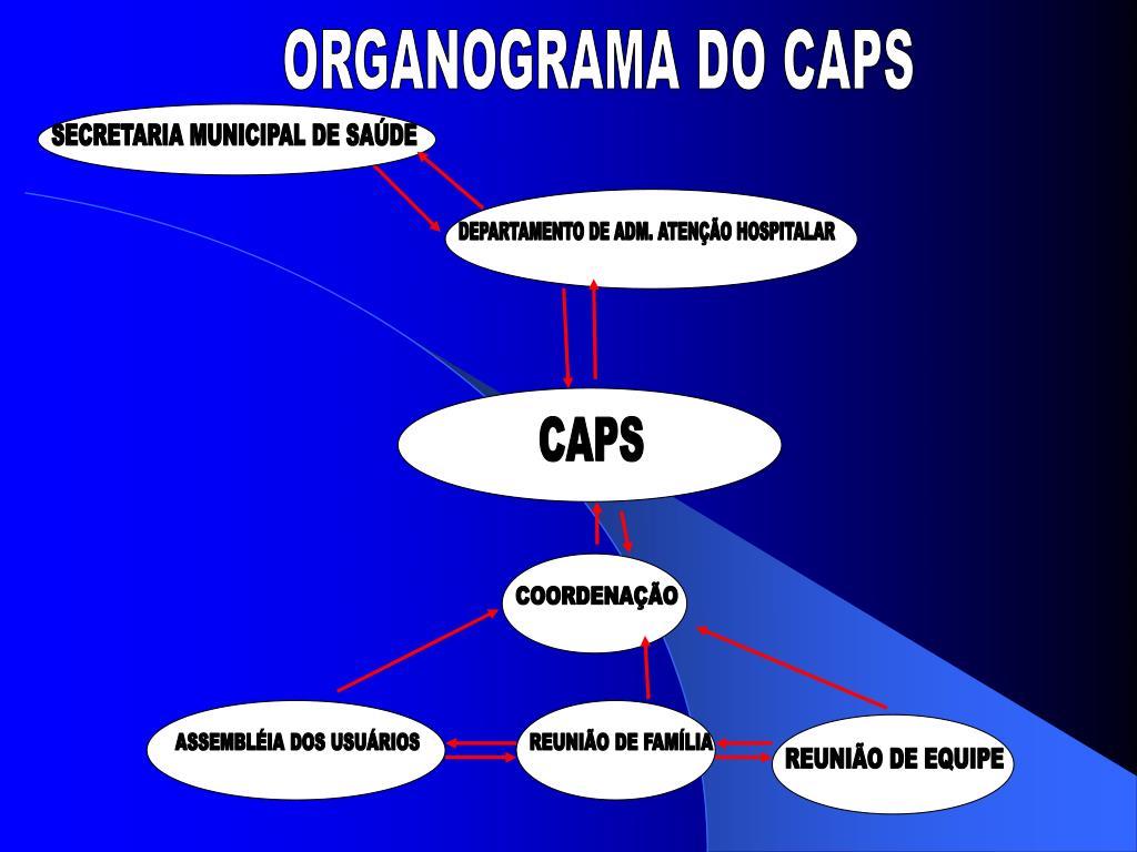 ORGANOGRAMA DO CAPS